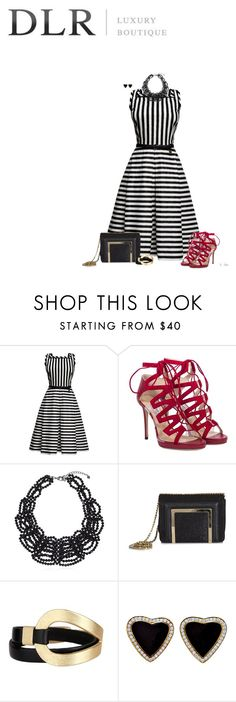 """""""DLR-Luxury Boutique"""" by ksims-1 ❤ liked on Polyvore featuring Rumour London, Jimmy Choo, Carolee, Saachi and dlrboutique"""
