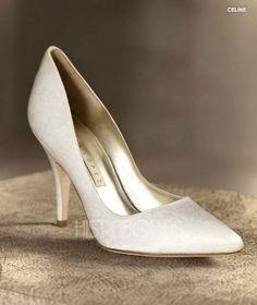 Zapatos de Novia 2012 Pura Lopez para Pronovias. Modelo Celine.