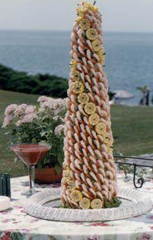 Shrimp Tower by New York Caterer - Elegant Eating