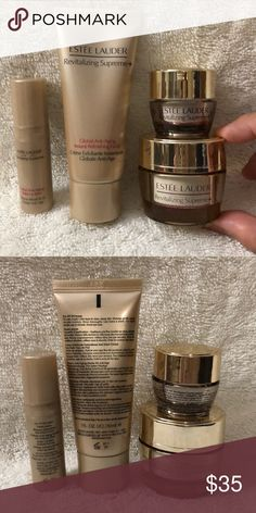 Estée Lauder 4pc sample size bundle New Estée Lauder 4pc sample size bundle  includes  • 8b3061da0549