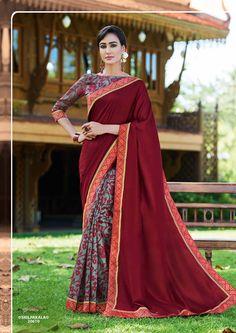 #VipulFashions #FashionForever #saree #sari #fashion #Ruby #Silk #catalog