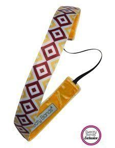 Sweaty Bands - Prime Time - -1 Fitness Headband! (Maroon and Gold 1') >>> Click image for more details. (This is an affiliate link and I receive a commission for the sales)