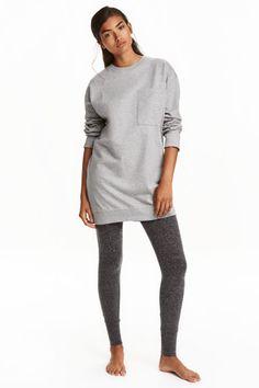 Pijama de dos piezas - Gris jaspeado - MUJER | H&M ES 1