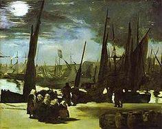Chiaro di luna sul porto di Boulogne