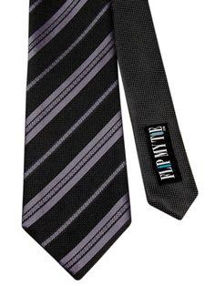 Flipmytie - Men's Black Reversible Tie (B), $24.99 (http://www.flipmytie.com/mens-black-reversible-tie-b/)