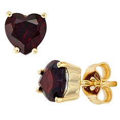 Ohrstecker Herz 333 Gold Gelbgold 2 Granate rot Ohrringe http://cgi.ebay.de/ws/eBayISAPI.dll?ViewItem&item=161976047347&ssPageName=STRK:MESE:IT