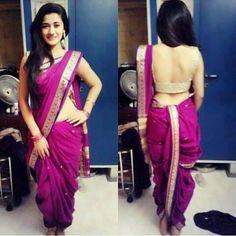 #saree #marathi #fashion