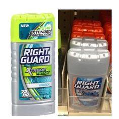 MONEYMAKER on Right Guard Xtreme Antiperspirant!!