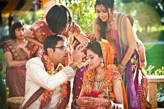 traditions are amazing in Indian weddings!
