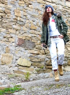 #military #tshirt #fashion #ootd #streetstyle #cool #winter
