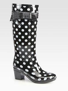 3f8a14d9c078 Kate Spade New York - Randi Too Polka Dot Rain Boots