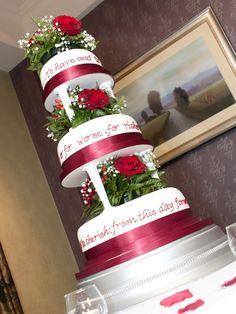 Gorgeous winter wedding cake Wedding Cakes, Gift Wrapping, Winter, Wedding Gown Cakes, Gift Wrapping Paper, Winter Time, Wedding Cake, Wrapping Gifts, Gift Packaging