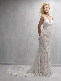 Marguerite Floral Petal Gown - Wedding Dress Shops Philadelphia