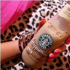 Vanilla Frappuccino Starbucks