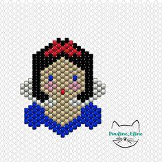 Alors, alors... Je vois que vous êtes de grandes fans de Disney et que je ne suis pas la seule à chanter dans mon salon sous les yeux horrifiés de mon mari! Voici les deux premiers diagrammes, la suite au prochain épisode ! #jenfiledesperlesetjassume #miyuki #disney #princess #princesse #brickstitch #motifpauline_eline #diagrammeperles #beadpattern #diagram