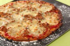 Recette de Pizza au thon et à la mozzarella