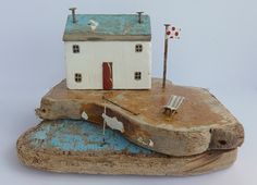Kirsty Elson Designs out of driftwood found on the shore.