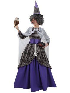 DisfracesMimo, disfraz de bruja malvada mujr varias tallas. �ste disfraz de Halloween es ideal para celebrar la Fiesta de la Noche de las Brujas cada vez m�s arraigada en nuestro Pa�s en Pub's. Este disfraz es ideal para tus fiestas tem�ticas de disfraces de miedo y brujas para mujer.