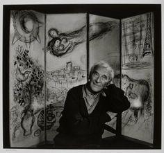 Marc Chagall,1965 por Yousuf Karsh.