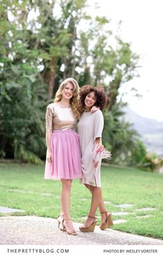 think out of the box when considering your bridesmaid's looks for the day! Bridesmaids, Bridesmaid Dresses, Wedding Dresses, Fashion Inspiration, Flower Girl Dresses, Fresh, Unique, Pretty, Blog