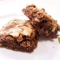 Mis brownies preferidos!!! me encantan y sirven para el te, o como postre con helado de violetas y chocolate x encima!! Recetas | Cocina con Encanto | Página 2