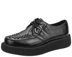 TUK VLK Creeper Sneaker WHT Leath Gum Sole, Baskets Basses Mixte Adulte, (White Leather), 39 EU