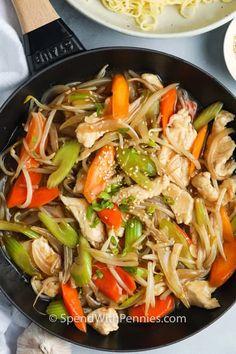 Easy Chicken Recipes, Asian Recipes, Ethnic Recipes, Chinese Recipes, Chinese Food, Oriental Recipes, Chinese Chicken, Asian Chicken, Healthy Recipes