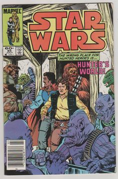 Star Wars V1 85. NM.  July 1984.  Marvel by RubbersuitStudios #starwars #comicbooks