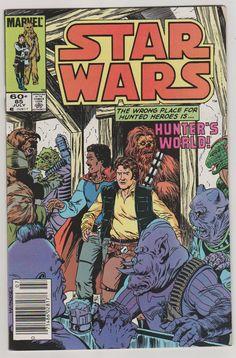 Star Wars V1 85. NM. July 1984. Marvel by RubbersuitStudios #starwars #comicbooks