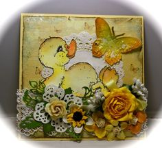 Magnolia stamp Duck.