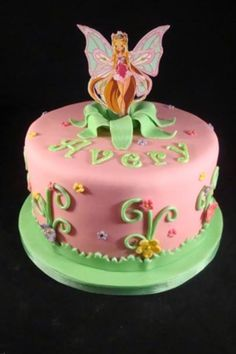 Winx Fairy Birthday Cake!