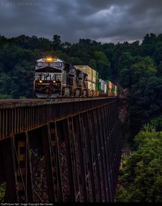 RailPictures.Net Photo: NS 3630 Norfolk Southern GE ET44AC at Lynchburg, Virginia by Alex Decker