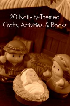 20 Nativity crafts, activities, and books for kids