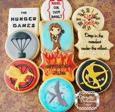The Hunger Game cookies   Cookie Connection