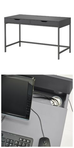 Alex Desk Gray