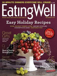Ancient Grains -- my feature in this month's Eating Well Magazine