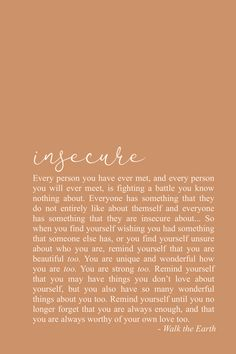 Insecure Quotes, Self Worth Quotes, Self Love Quotes, Inspiring Poetry You are allowed to love yourself too. Self Love Quotes, Words Quotes, Wise Words, Quotes To Live By, Life Quotes, Poetry Quotes, Sayings, Positive Quotes, Motivational Quotes