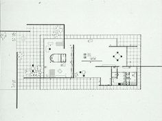 Mies van der Rohe; House for a childless Couple at the Building Exposition, Berlin, 1931