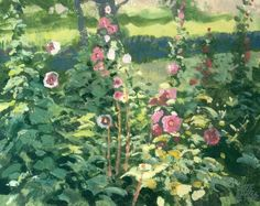 Google Image Result for http://www.snyder-gallery.com/system/files/paintings/10/1069%2520English%2520Hollyhocks.jpg