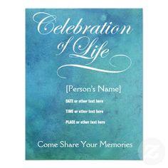 Invitation wording celebration of life invitation memorial elegant celebration of life memorial invitation stopboris Choice Image