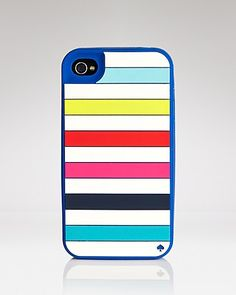 kate spade new york iPhone 4 Case - Candy Stripe   Bloomingdale's