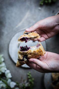 Local Milk | lavender blueberry & ricotta turnovers