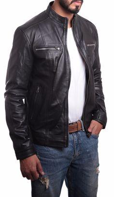 Wilsons Mens Leather Jacket #MENSJACKETS