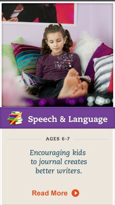 Encourage your child to keep a journal to explore feelings and enjoy #writing without pressure. #SpeechandLanguage