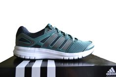 Adidas Duramo 6 Men's Running Trainers Green/Grey B40947