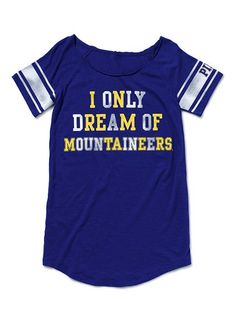 I only dream of Mountaineers..I only need to get this :)