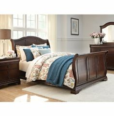 Cameron King Sleigh Bed | Master Bedroom | Bedrooms | Art Van Furniture - the Midwest's
