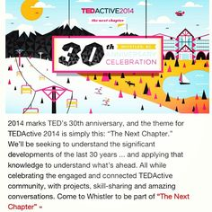 #TEDActive's new home... Whistler in Canada! #TEDActive2014
