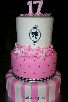 17th Birthday Cake Party Ideas 17 Girl