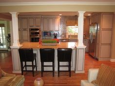 kitchen remodel: when the walls come tumbeling down before and after, we purchased this 50 y/o home last fall. most of the home with the exc...